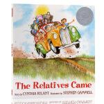 英文原版绘本The Relatives Came亲朋自远方来凯迪克银奖儿童启蒙平装大开图画图画故事书