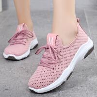 老北京布鞋女鞋2019新款夏季女网鞋透气休闲运动鞋女系带女士布鞋