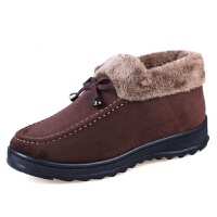 加厚保暖老北京布鞋女冬季奶奶棉鞋软底防滑加绒厚底中老年妈妈鞋