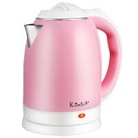 【佛山家电馆】 KASRROW/凯仕乐 KSR-JM813 1.8L大容量电水壶  304不锈钢热水壶