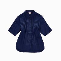 【顺心而行】诺诗兰时尚版型防泼水抗污女式中袖搭配衬衫