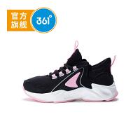 【1件2.5折到手价:74.8】361度童鞋女童跑鞋小童2020年冬季新品休闲运动鞋 N81943821