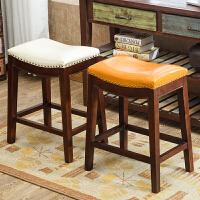 珠宝柜台椅子美式高脚高凳吉他黄金翡翠眼镜店店专用凳子55cm60cm