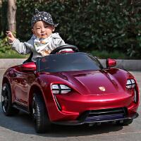 高大上儿童电动汽车 轿车 跑车 四轮摇摆童车 双驱动遥控男女婴儿小孩多功能玩具车 可坐人拉风汽车 仿真车