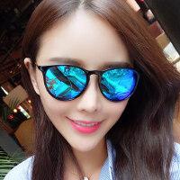 户外时尚墨镜女潮眼镜 偏光太阳镜女士圆脸复古眼镜 支持礼品卡支付