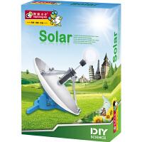 探索小子科学实验科技小制作科普8-12岁儿童diy拼装科教益智玩具太阳能实验