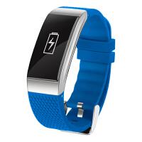 DFYOU 运动智能手环测心率血压防水蓝牙手表男女游泳跑步计步器DB07
