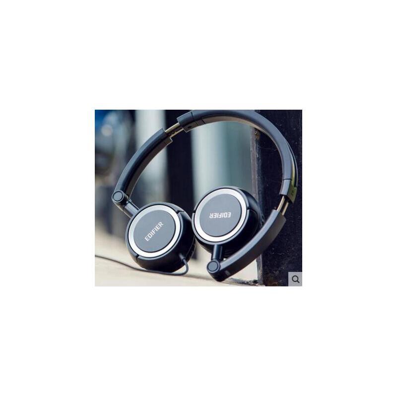 【支持礼品卡】Edifier/漫步者 H650P耳机头戴式折叠台式电脑手机音乐耳麦带麦 正品行货