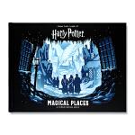 现货 Harry Potter Magical Places: A Paper Scene Book 哈利波特 电影场