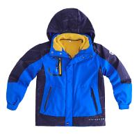男童冲锋衣三合一户外秋冬装儿童两件套中大童