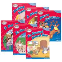 朗文小学英语分级阅读绘本1级6册 主题式经典故事 Bright Readers 1 英文原版 情景学科课外读物 儿童英语