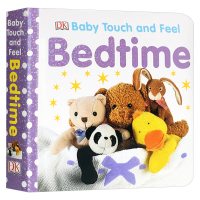 DK幼儿英语启蒙触摸纸板书 该睡觉啦 Baby Touch and Feel Bedtime 英文原版绘本 睡前亲子阅读