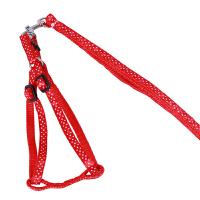 麦豆宠物新品狗绳 贴布带胸背套牵引绳套装 一件 1806011