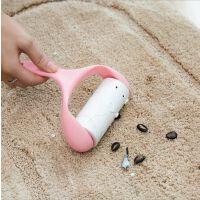 粘毛器滚筒可撕式粘尘纸滚刷粘毛衣服去除毛毡黏头发吸沾毛器