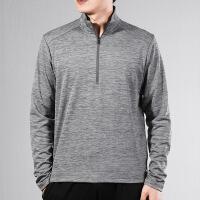 幸运叶子 Nike耐克男装新款立领卫衣紧身运动服健身长袖T恤BV4756-068
