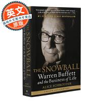 The Snowball: Warren Buffett and the Business of Life【英文原版】滚雪球:巴菲特自传