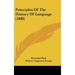 【预订】Principles of the History of Language (1888)