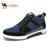 camel 骆驼男鞋秋季拼接舒适运动休闲时尚百搭休闲男鞋