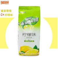 雀巢 果�SC+酸爽��檬味果珍粉840g餐��b �料�C�_�速溶果汁粉