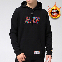 Nike耐克男�l衣冬新款�玩�\�舆B帽套�^衫DH1382-010