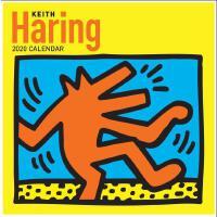 【现货】英文原版 凯斯・哈林 2020年挂历 涂鸦艺术 新年日历 Keith Haring 2020 Wall Cal