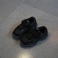 2019新款�n版童鞋�和��W格�\�有� 男童女童跑步鞋小孩鞋子透�庑蓍e鞋耐磨童鞋中大童板鞋防滑�\�有�