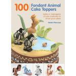 【预订】100 Fondant Animal Cake Toppers: Make a Menagerie of Cu
