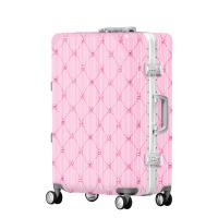 2018新款公主风旅行箱万向轮登机行李箱女士密码锁拉杆箱硬箱