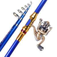 海竿硬钓鱼竿套装垂钓抛竿远投海钓竿甩海杆渔具组合