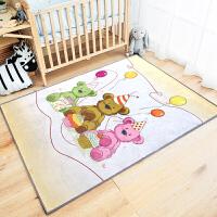 佳佳 客厅卧室地毯卡通儿童床边床前茶几榻榻米地垫爬行毯JJET1