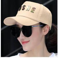棒球帽百搭潮人夏鸭舌帽女帽子春季时尚潮韩版学生可爱夏天 可礼品卡支付