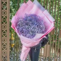 满天星鲜花全大花束花束礼盒速递杭州生日毕业同城送花店