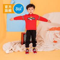 【新春4.5折价:80.5】361度男童连帽卫衣2019年秋季新品N51934302