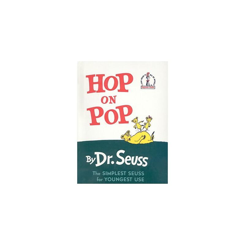 【预订】Hop on Pop 预订商品,需要1-3个月发货,非质量问题不接受退换货。