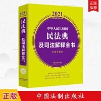正版 2021法律法规全书系列 中华人民共和国民法典及司法解释全书( 含指导案例)中国法制出版社