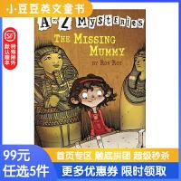 进口英文原版The Missing Mummy A to Z 神秘案件 #13 失踪的木乃伊 6-1