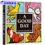 A Good Day Board Book 英文原版绘本纸板书 名家 Kevin Henkes 儿童英语绘本 常青藤爸