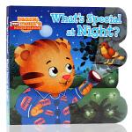 What's Special at Night?夜晚有什么特别的呢 英文原版绘本 儿童启蒙纸板图画书 睡前读物