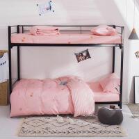 全棉宿舍三件套学生单人纯棉男生女生床单床笠款0.9/1.2米床上用品