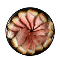 �Q�N�x烟熏后腿腊肉250g袋 四川特产手工腊肉腊味 咸肉熏肉真空包装