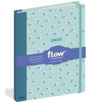 英文原版 Flow杂志 2020年手帐日历 周历笔记本 Flow Weekly Planner 2020