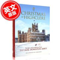 现货 海克利尔的圣诞节 唐顿庄园的传统和食谱 英文原版 Christmas at Highclere 海克利尔城堡 唐