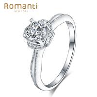 Romanti罗曼蒂珠宝 18K金钻戒女款结婚钻石女戒指梦中婚礼系列婚戒需定制