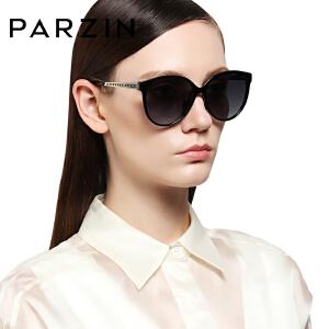 帕森偏光太阳镜 女士优雅系列 时尚大框潮墨镜开车驾驶镜9895