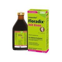 【2瓶装】 德国Salus Floradix铁元 女性孕妇补铁补气补血抗疲劳 绿元500ml*2