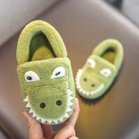 宝宝棉拖鞋男婴幼儿防滑软底保暖包跟儿童棉鞋