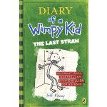 Diary of a Wimpy Kid #3 The last straw  小屁孩日记3:最后的稻草 (英国版,平装)ISBN 9780141324920