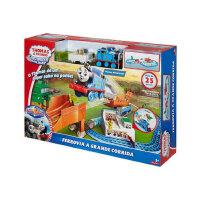 托马斯和朋友电动系列之竞速飞跃轨道套装DFL93 儿童益智早教玩具