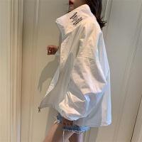 防晒衣女薄外套2019夏季韩版宽松学生短款防紫外线小个子