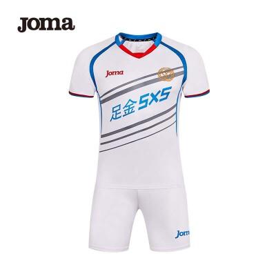 JOMA荷马足球服套装男比赛队服足球运动衣服短袖足球训练服装球衣套装
